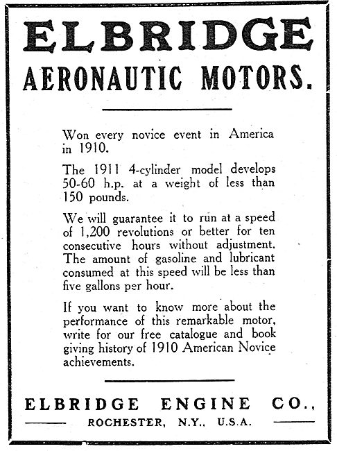 Elbridge Aeronautic Motors