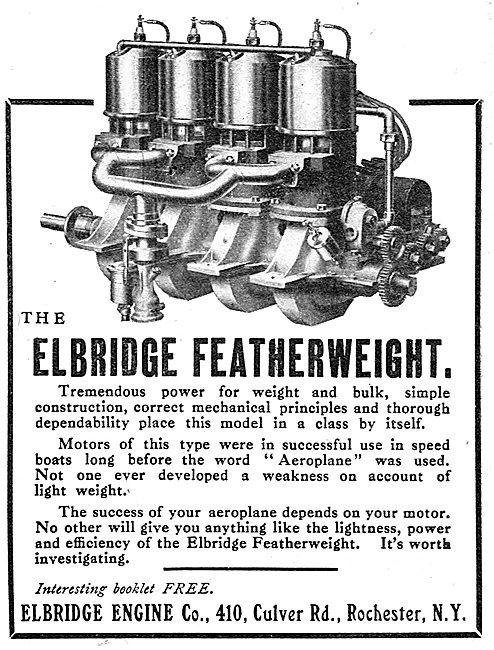 Elbridge Featherweight Aeroplane Engine