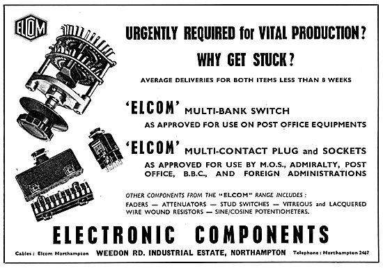 Electronic Components. Weedon. Elcom
