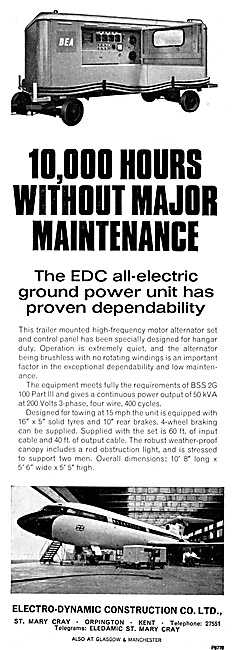 Electro-Dynamic  Ground Power Units. GPU