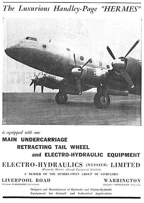 Electro-Hydraulics Landing Gear & Hydraulic Equipment