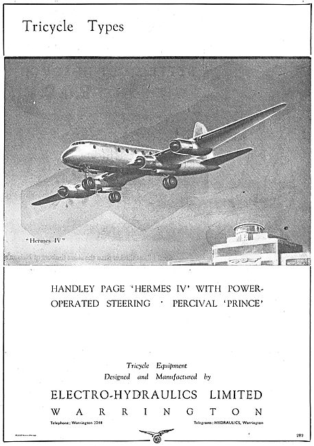Electro Hydraulics Power Operated Steering For The HP Hermes IV