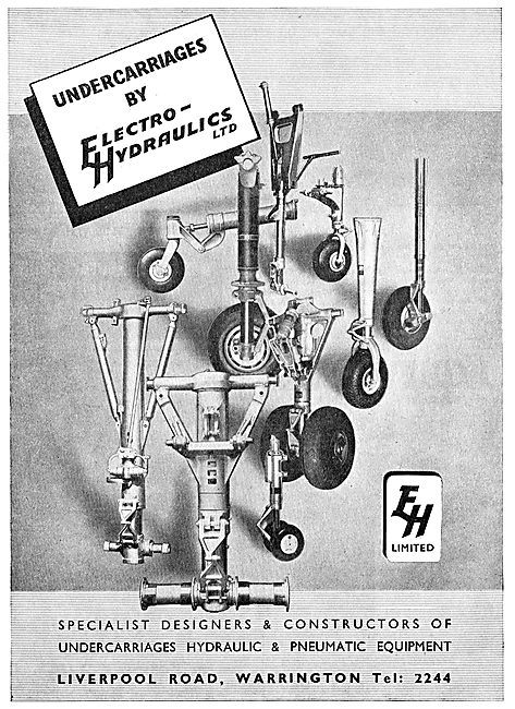 Electro Hydraulics - Undercarriage, Hydraulic & Pneumatic Eqpt