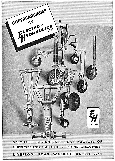 Undercarriages By Electro Hydraulics