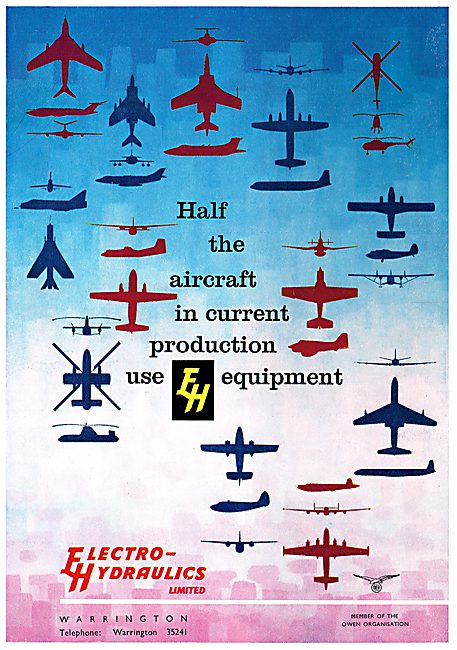 The Aircraft Use Electro Hydraulics Equipment
