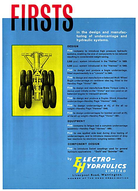 Electro Hydraulics. Hydraulic & Undercarriage Equipment
