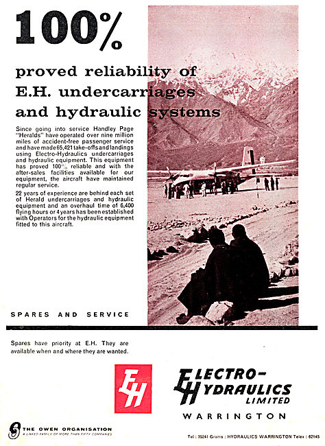 Electro Hydraulics - Aircraft Hydraulics & Undercarriages