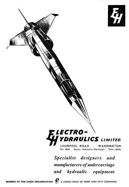 Electro Hydraulics - Aircraft Hydraulic & Undercarriage Equipment