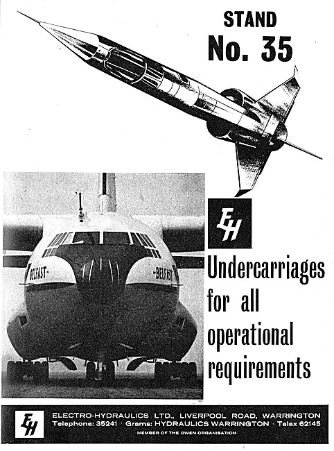 Electro-Hydraulics Undercarriages