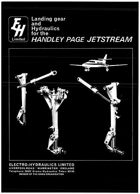 Electro Hydraulics Landing Gear & Hydraulic Equipment