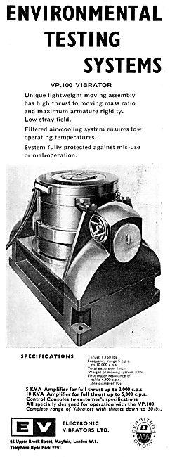 Electronic Vibrators Ltd :  VP.100 Vibrator