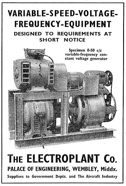 Electroplant - Frequency Equipment Generators