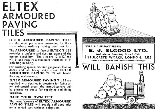 E.J.Elgood - Eltex Armoured Paving Tiles
