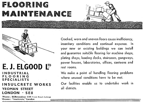E.J.Elgood Factory Flooring