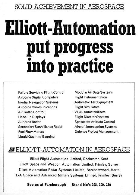 Elliott  Flight Automation