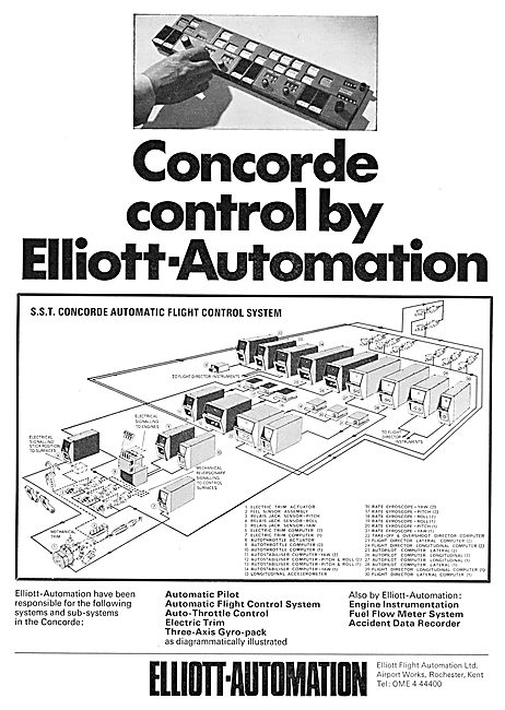 Elliott-Automation Flight Control System