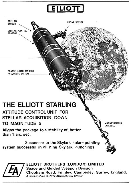 Elliott Starling Stellar Acquisition System 1967