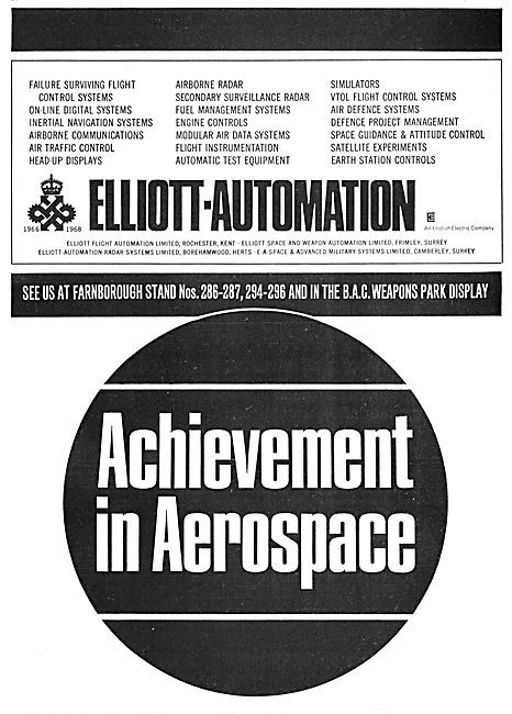 Elliott Automation Aircraft & Satellite Equipment