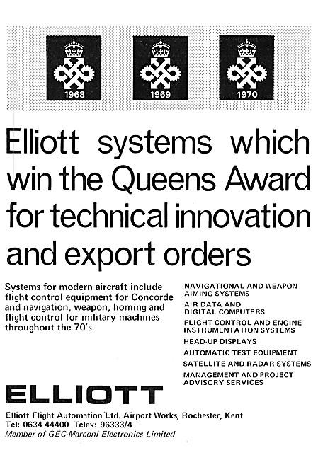 Elliott Flight Automation. Navigation & Weapon Aiming Systems