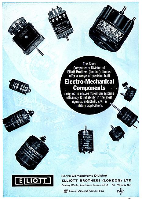 Elliott Brothers - Elliott Automation : Electro Mechanical Parts