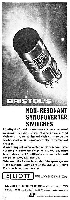 Elliott Brothers - Elliott Automation : Synchroverter Switches