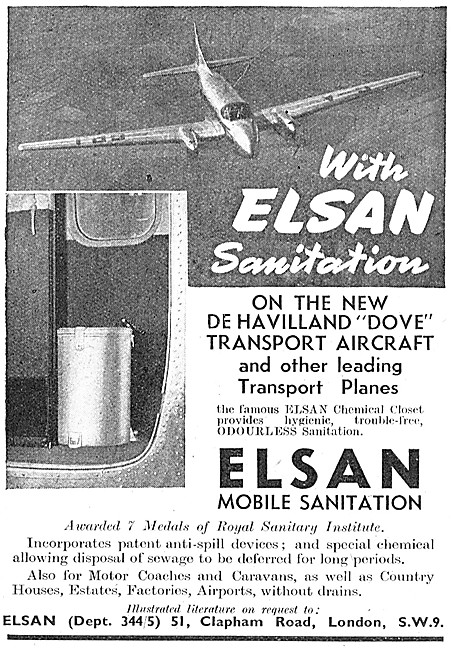 Elsan Sanitation Units For Aircraft
