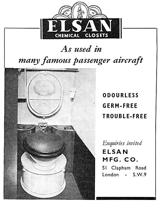 Elsan Aircraft Toilets