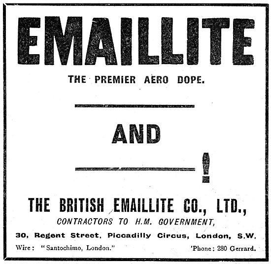 British Emaillite Dope