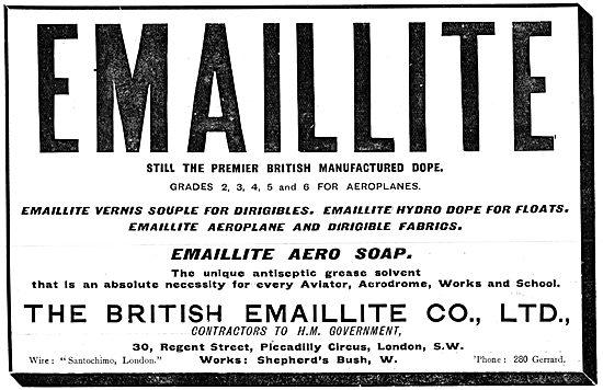British Emaillite Dope - British Aero Soap