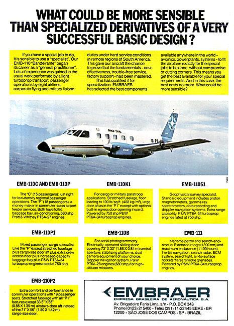 Embraer Bandeirante - EMB-110 1977