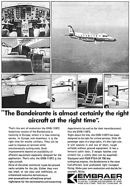 Embraer Bandeirante EMB-110P2