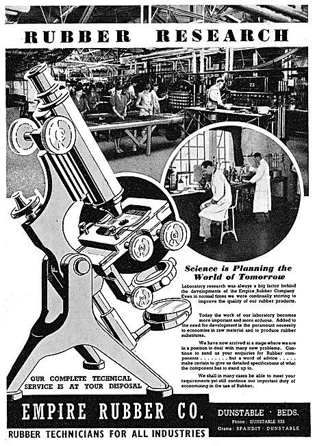 Empire Rubber - Rubber Technicians. Rubber Research