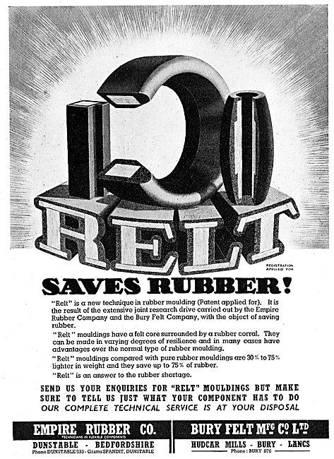 Empire Rubber - Bury Feld. RELT Rubber Moulding Technique