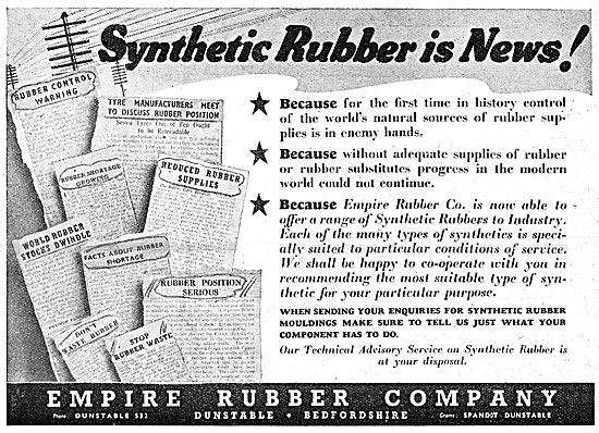 Empire Rubber - Moulded & Extruded Synthetic Rubber