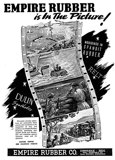 Empire Rubber - Dulin Moulded & Extruded Synthetic Rubber 1945