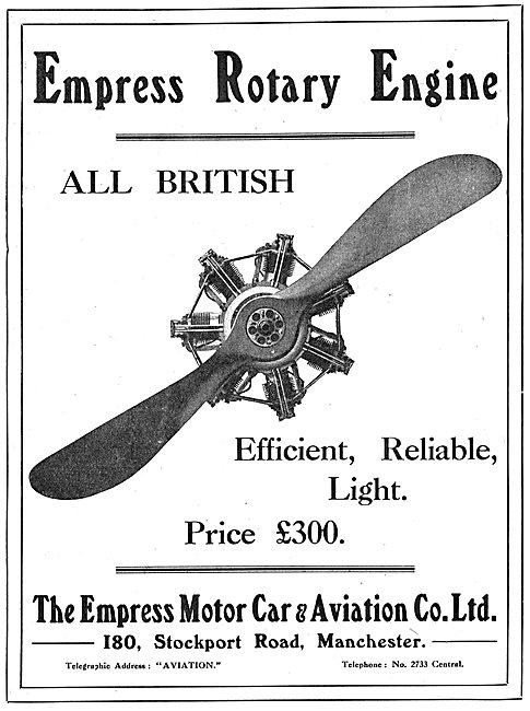 Empress Efficient, Light & Reliable Aero Engines.