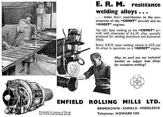 Enfiled Rolling Mills - ERM Resistance Welding Alloys