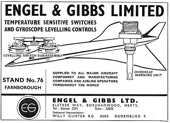Engel & Gibbs Switches & Controls For Aircraft