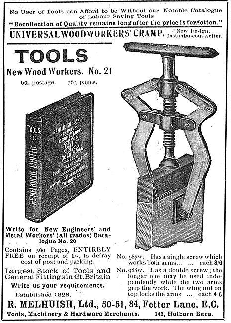 R.Melhuish Ltd Universal Woodworkers Cramp & Tools