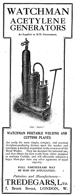 Tredegars Watchman Portable Welding & Cutting Plants