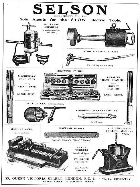 Selson Engineering Co. Machine Tools For The Aircraft Industry