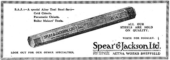 Spear & Jackson Ltd Cold Chisels & Boilermakers Tools