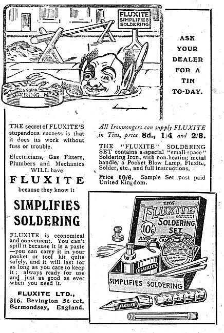 Fluxite Soldering Set: Simplifies Soldering
