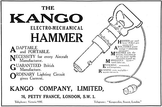 Kango Electro-Mechanical Hammer 1925
