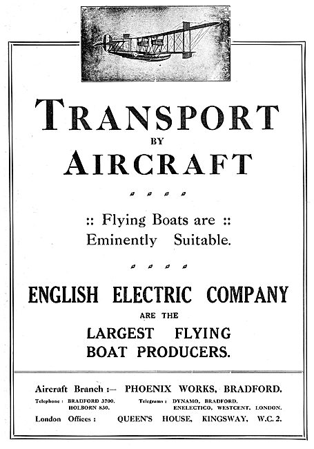 English Electric Flying Boats