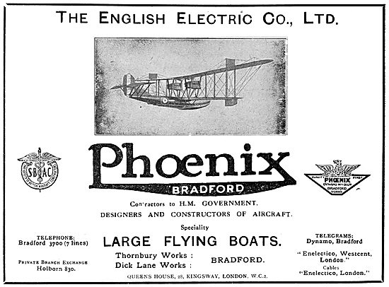 English Electric Phoenix Flying Boats