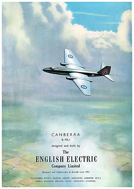 English Electric Canberra B Mk1