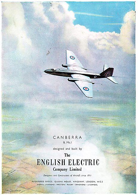 English Electric Canberra B.Mk.1
