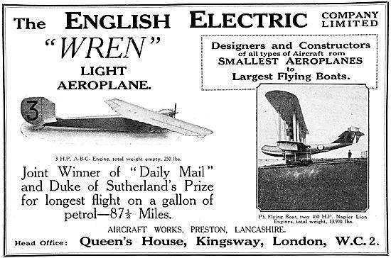 English Electric Wren
