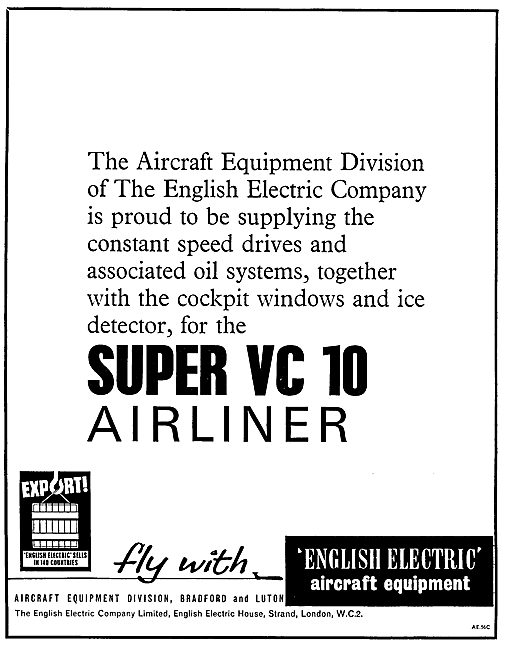 English Electric Aircraft Components